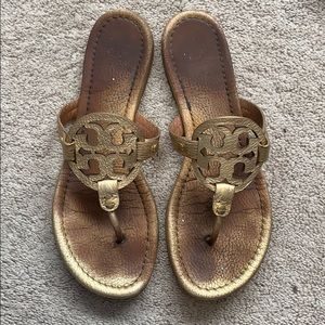 Tory Burch Shoes - Used Tory Burch Miller sandals